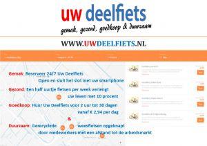 Flyer Uw Deelfiets Nederlands